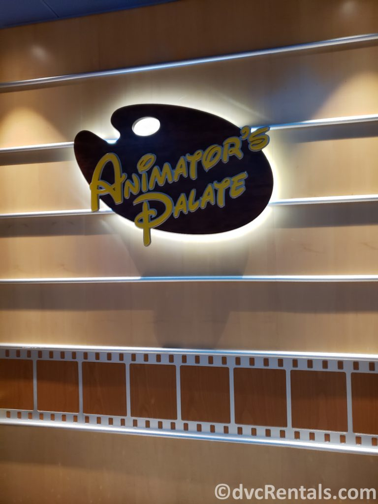 Sign for Animator's Palate