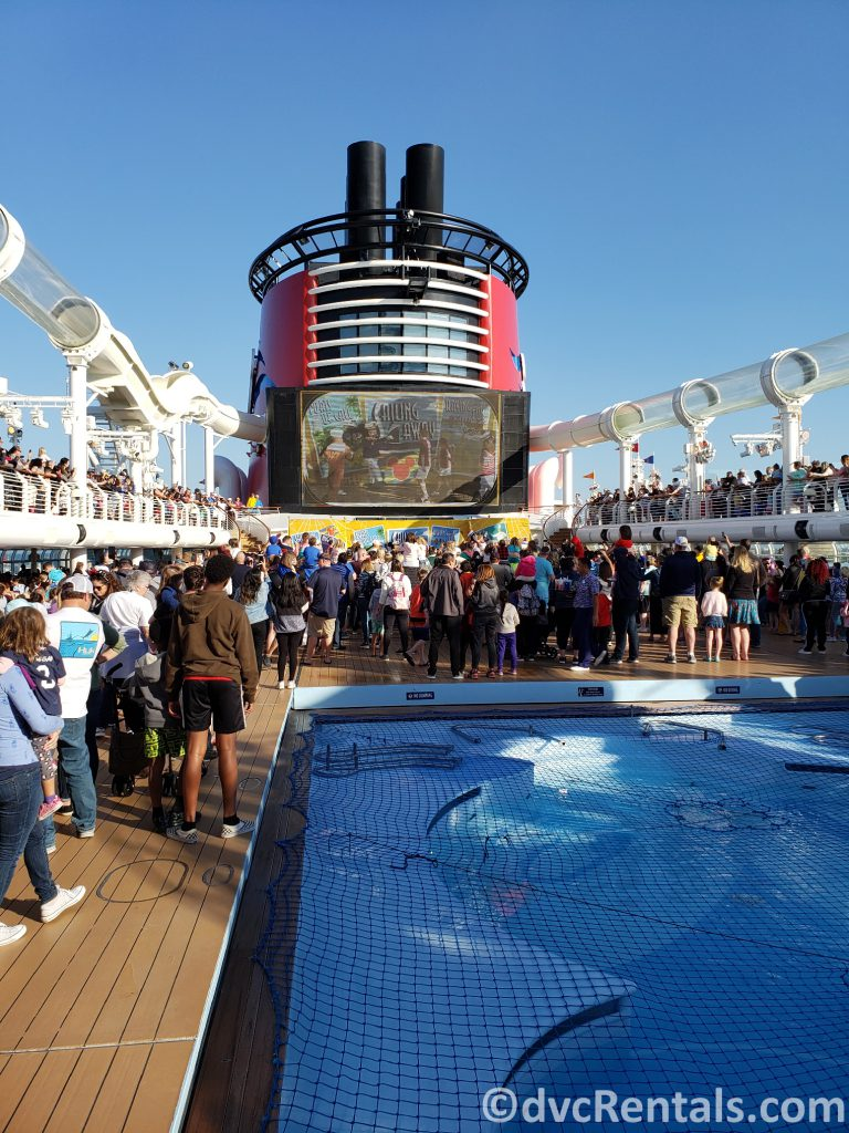Sailing Away Party on the Disney Dream