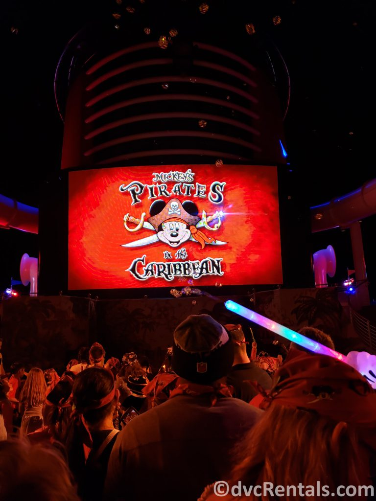 Pirate Night Deck Party on the Disney Dream