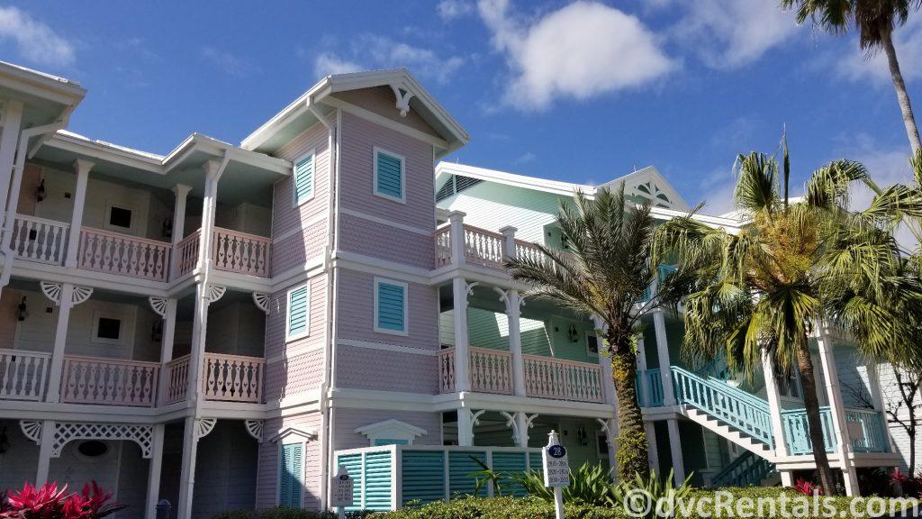 Building at Disney's Old Key West