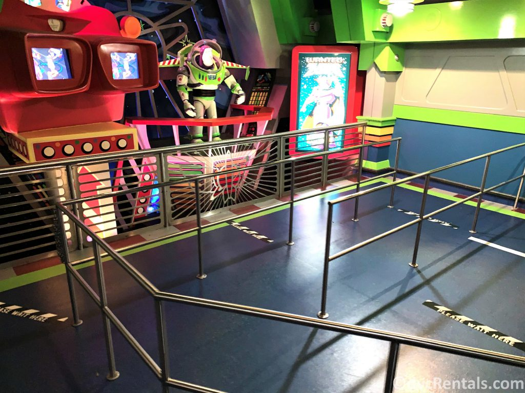 empty live for Buzz Lightyear's Space Ranger Spin