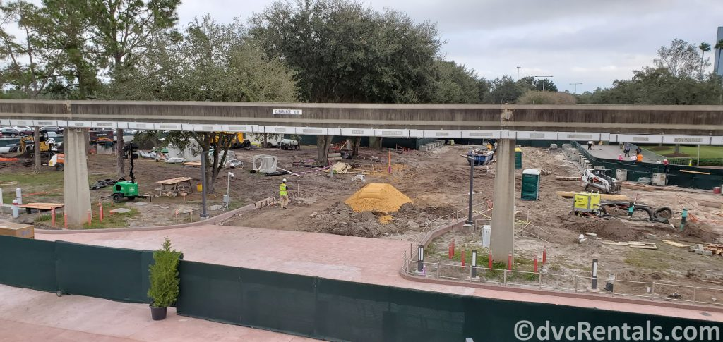 Construction at Epcot