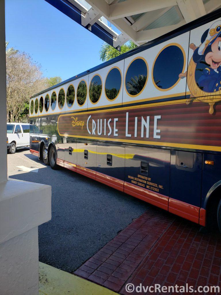 Disney Cruise Line bus