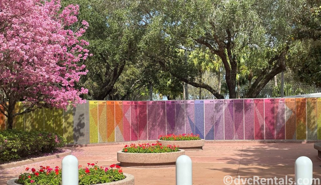 Leave a legacy tiles at Epcot