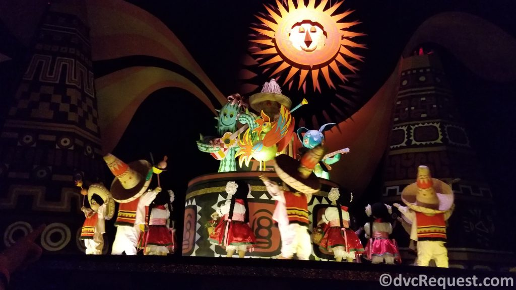 Scenes from It's a Small World