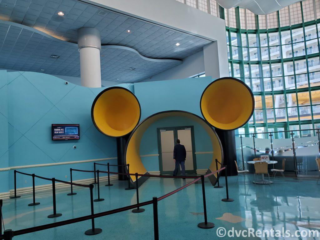 Mickey Head entrance at Port Canaveral