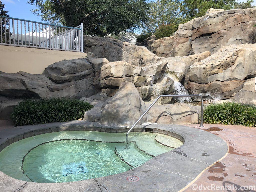 whirlpool at Disney's Saratoga Springs Resort & Spa
