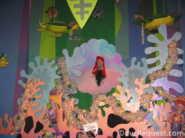 Ariel from It's a Small World in Disneyland