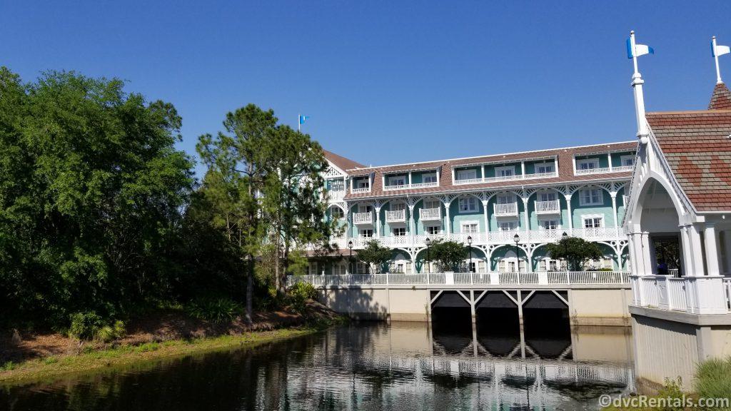 Exterior picture of Disney's Beach Club Villas