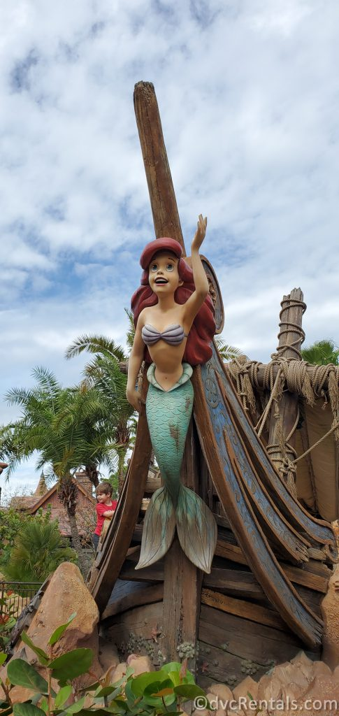 Entrance to Under the Sea – Journey of the Little Mermaid at Magic Kingdom