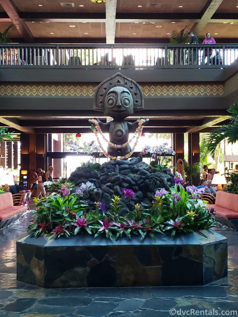 Lobby at Disney's Polynesian Villas & Bungalows