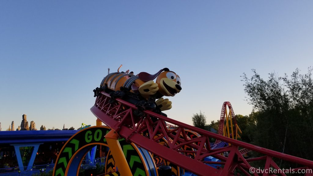 Slinky Dog Dash coaster in Toy Story Land