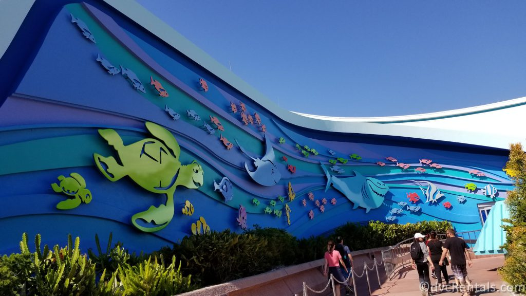 Entrance to the Seas with Nemo & Friends