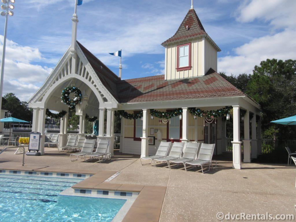 Leisure pool at Disney's Beach Club Villas