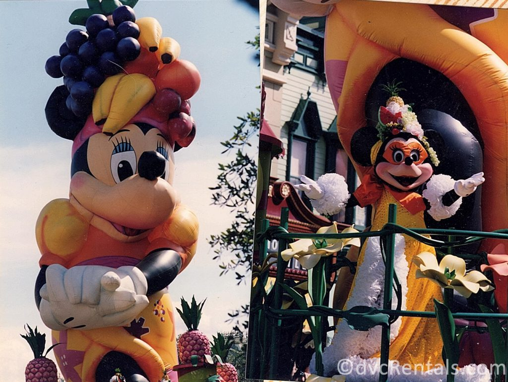 Magic Kingdom Parades from previous years