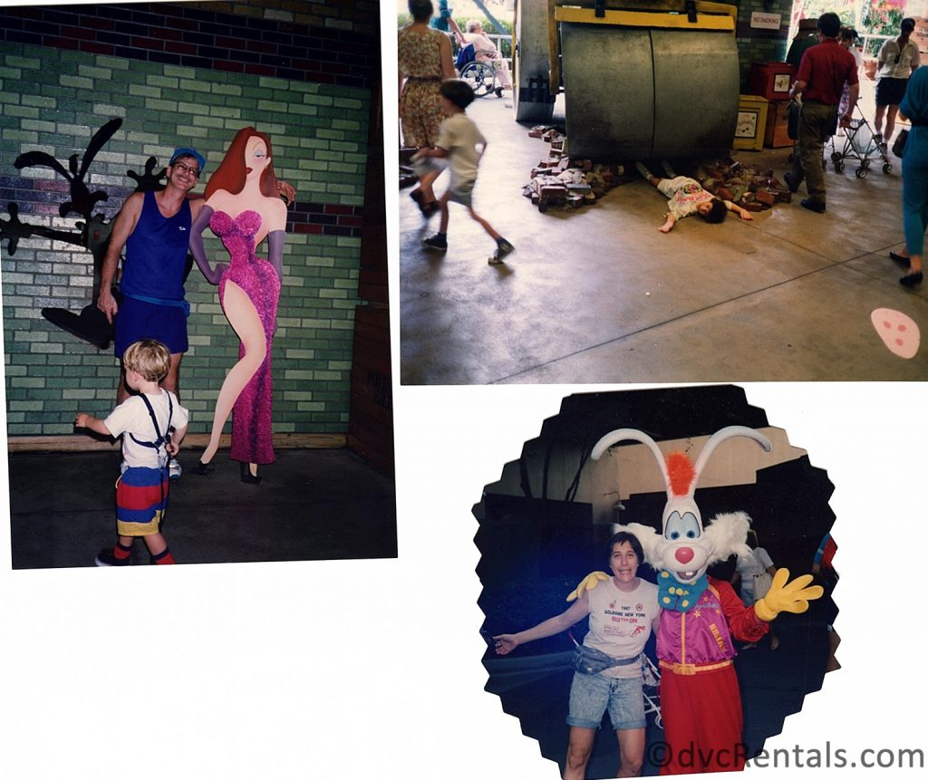 collage of Roger Rabbit photos