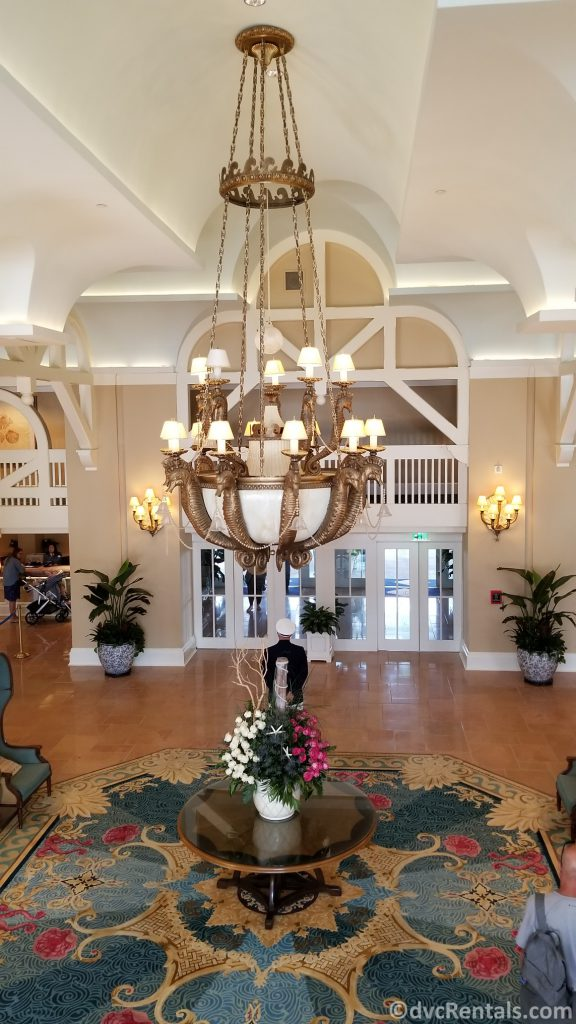 Lobby of Disney's Beach Club Villas