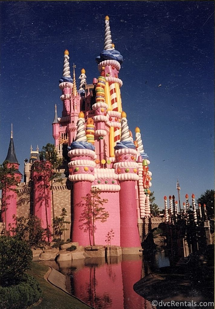 Cinderella Castle for WDW's 25th anniversary