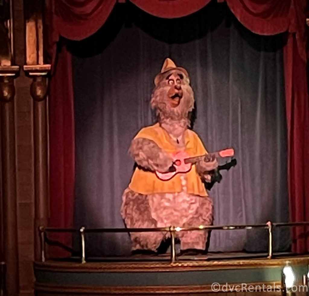 Animatronic from the Country Bear Jamboree