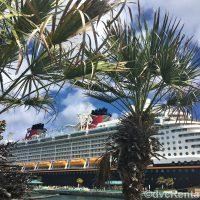 Exterior image of the Disney Dream