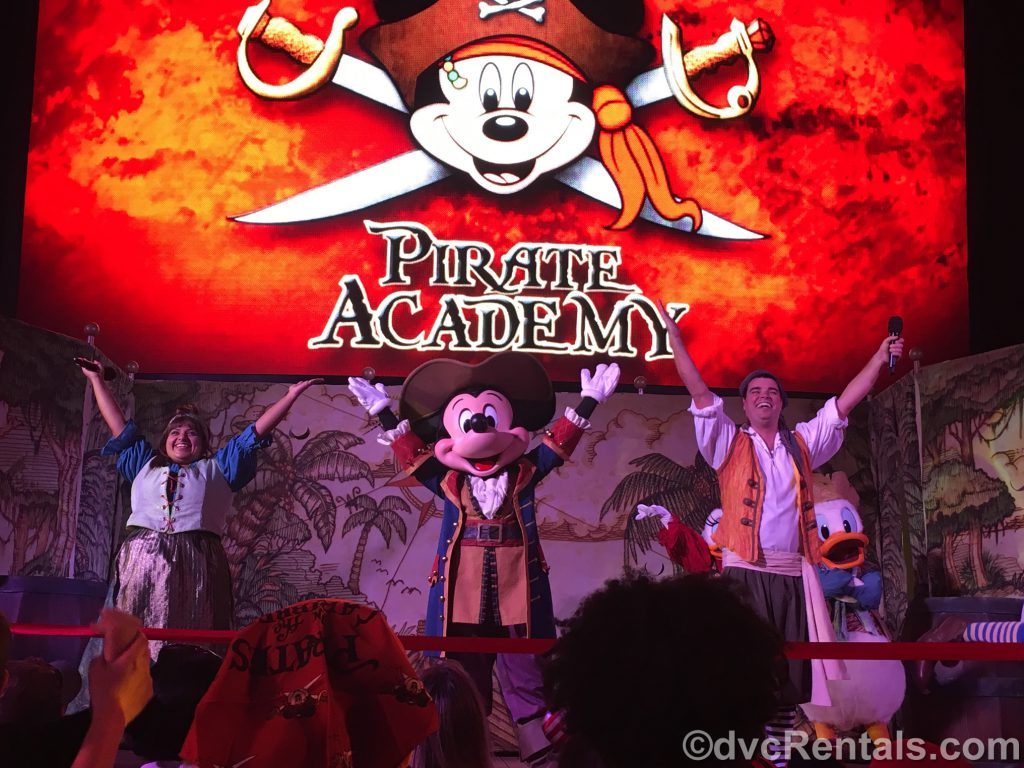Pirate Party on the Disney Dream