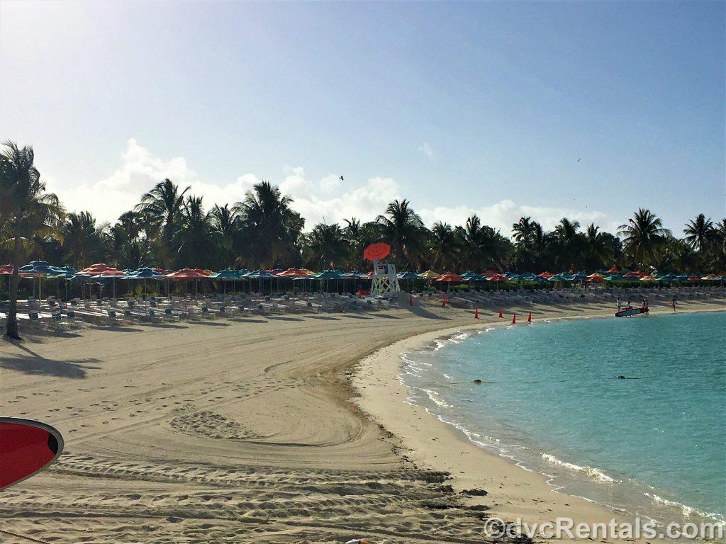 Beach at Castaway Cay
