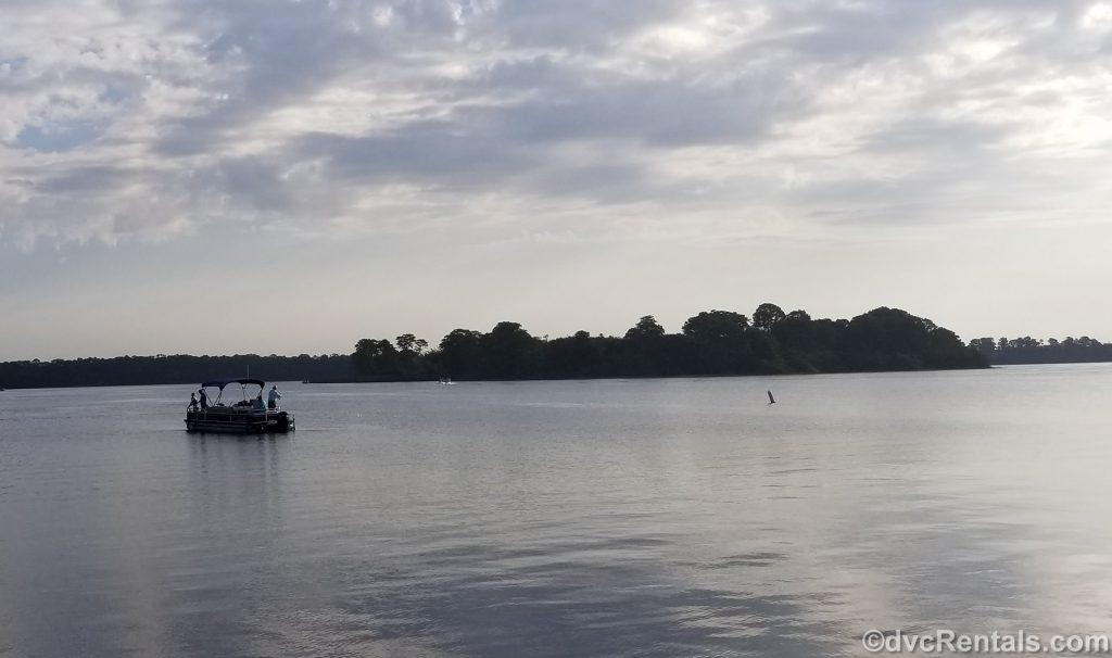 Fishing boat on the Seven Seas Lagoon