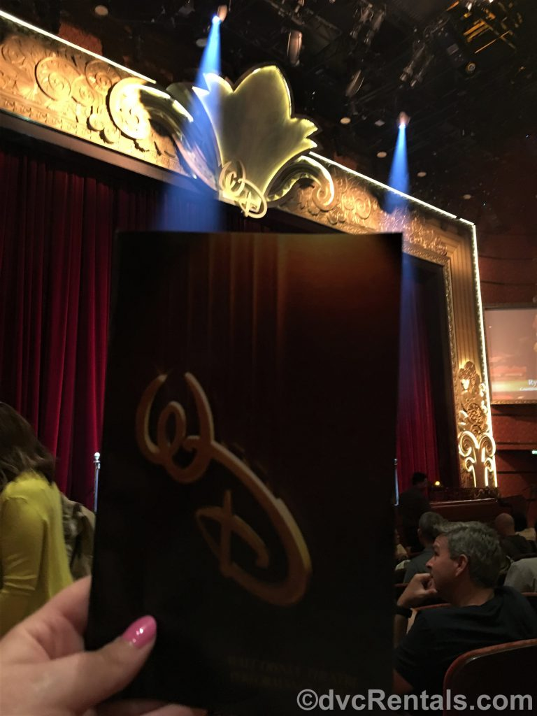 Walt Disney World Theatre on the Disney Dream