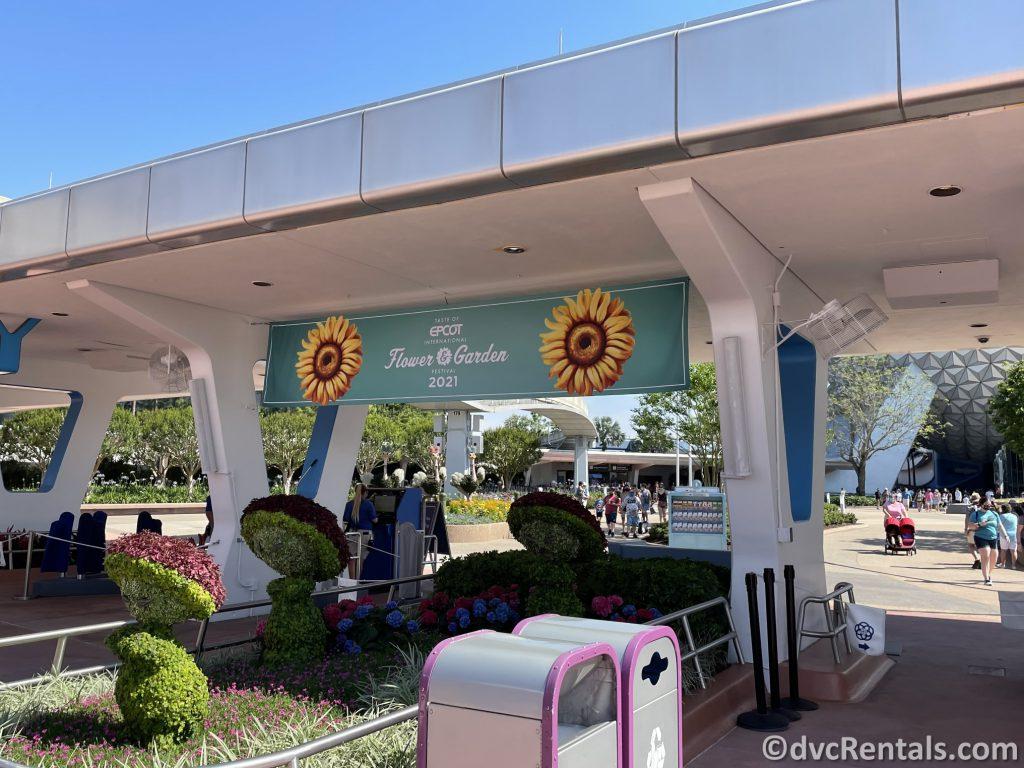 Taste of Epcot International Flower & Garden Festival Sign