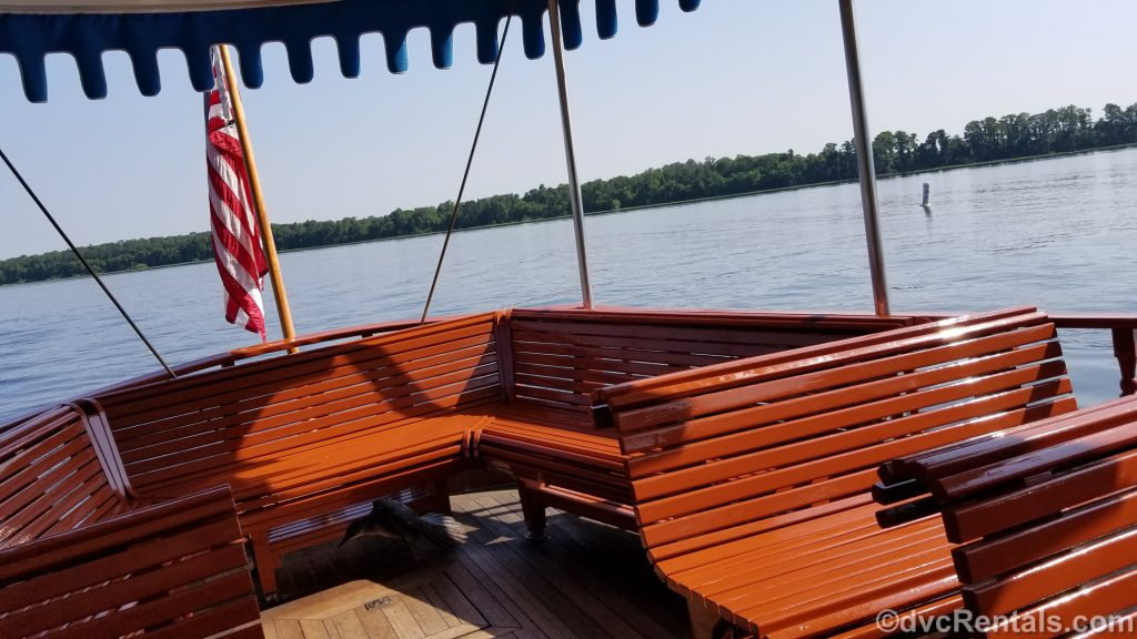 boat from Disney's Wilderness Lodge