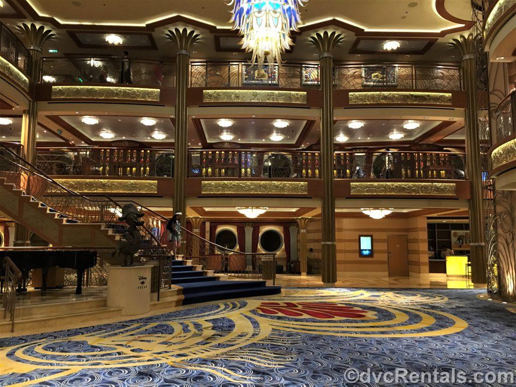 lobby of the Disney Dream