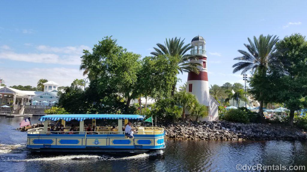 Boat at Disney's Old Key West