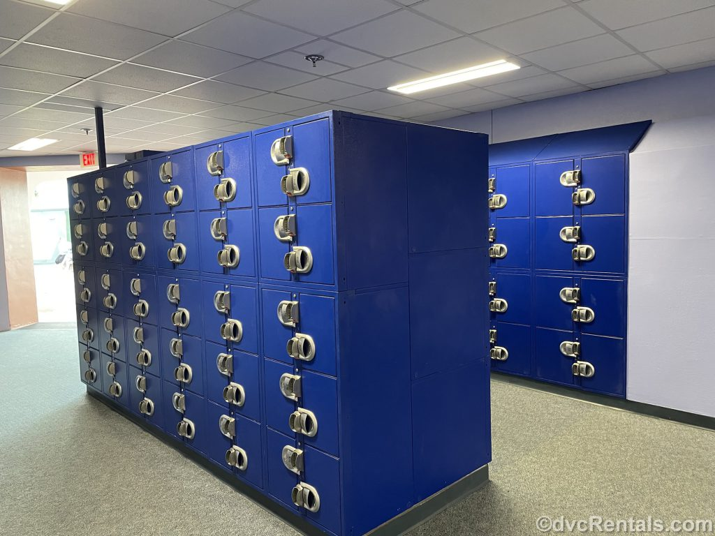 Lockers at Epcot