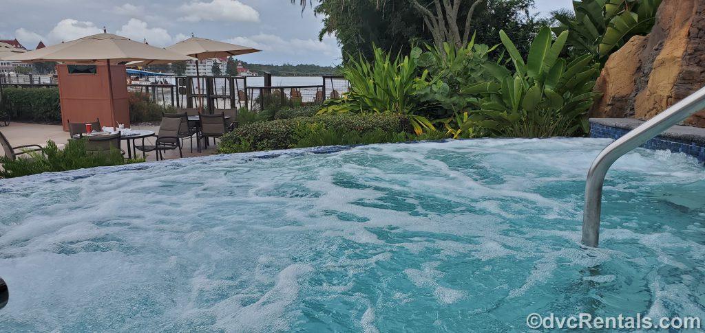whirlpool at Disney's Polynesian Villas & Bungalows