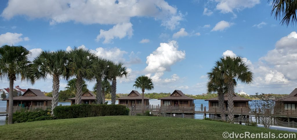 bungalows at Disney's Polynesian Villas & Bungalows