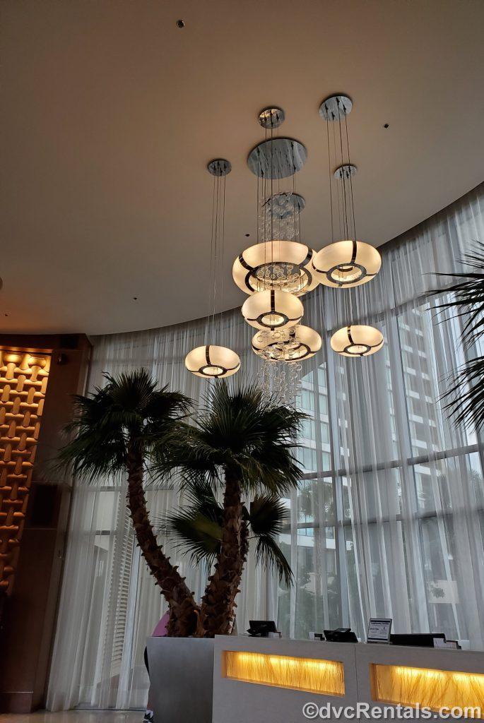 Lobby of Disney's Bay Lake Tower