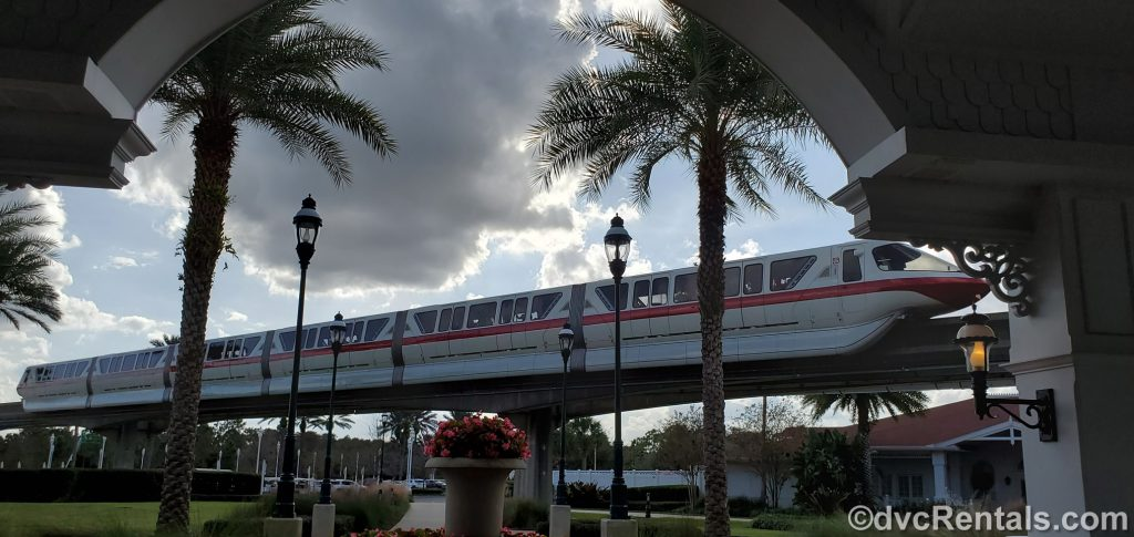 Monorail at Disney's Grand Floridian