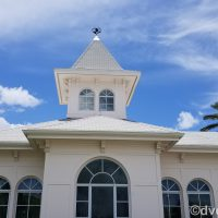 Mickey Mouse as Cupid weathervane the Grand Floridian Wedding Pavilion