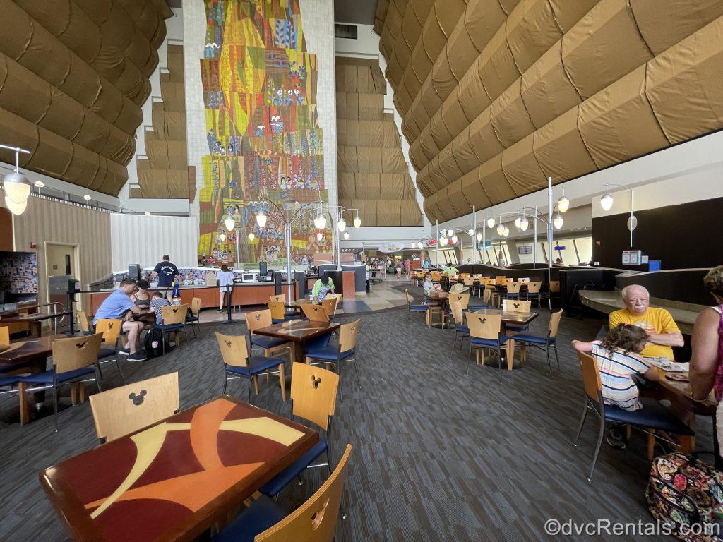 Contempo Café restaurant at Walt Disney World