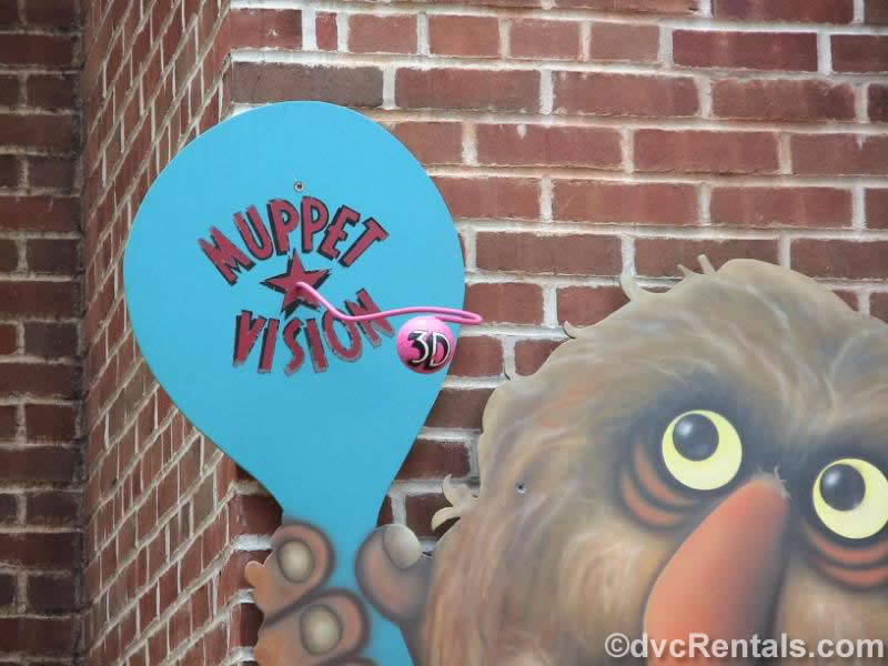 Sweetums at MuppetVision
