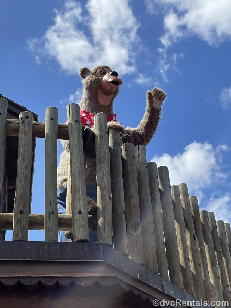 Characters in Frontierland