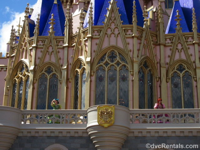 Stepsisters on Cinderella Castle