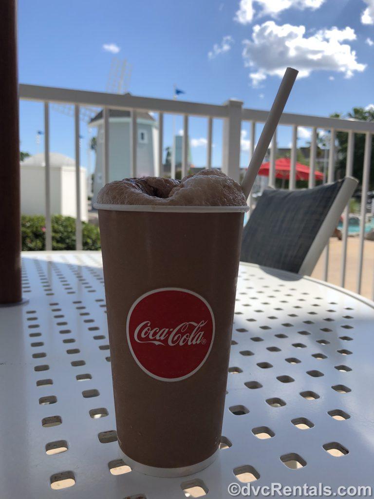 Ice Cream shake at Disney's Beach Club Villas