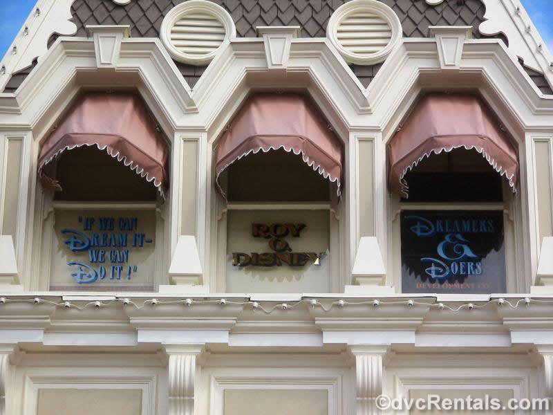 Windows on Main Street USA