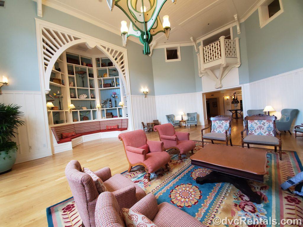 Sitting Area at Disney's Beach Club Villas