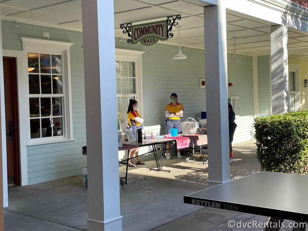 Community Hall activities from Disney's Saratoga Springs Resort & Spa