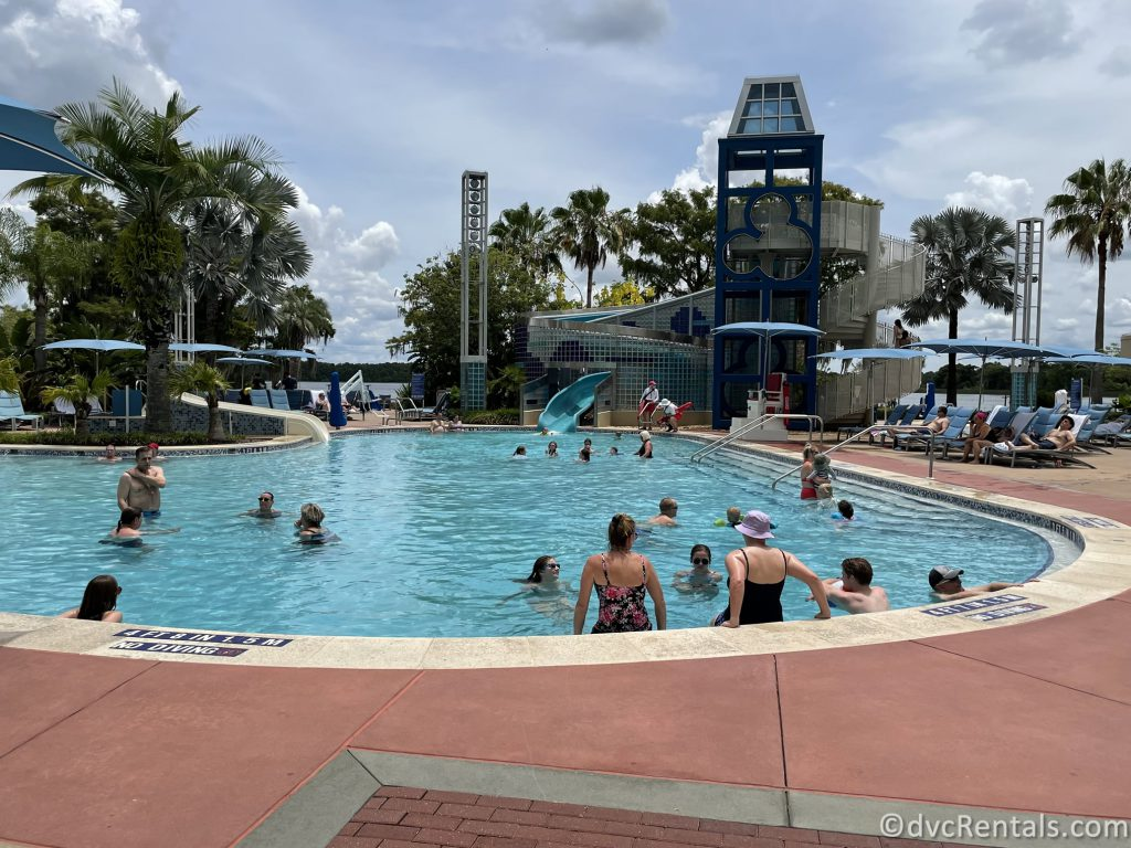 Bay Cove Pool at Disney's Bay Lake Tower