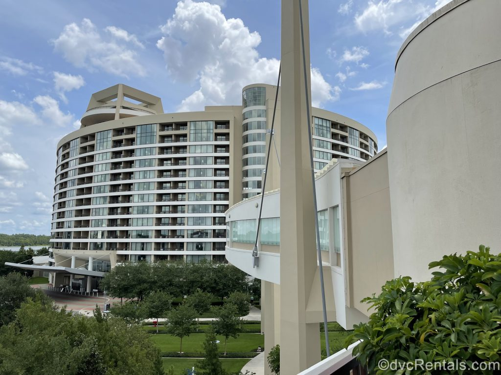 Skybridge from Disney's Bay Lake Tower to the Contemporary Resort