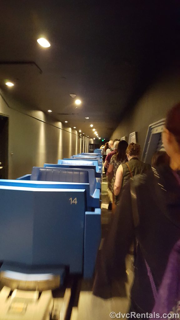 Guests being evacuated from the PeopleMover at Magic Kingdom