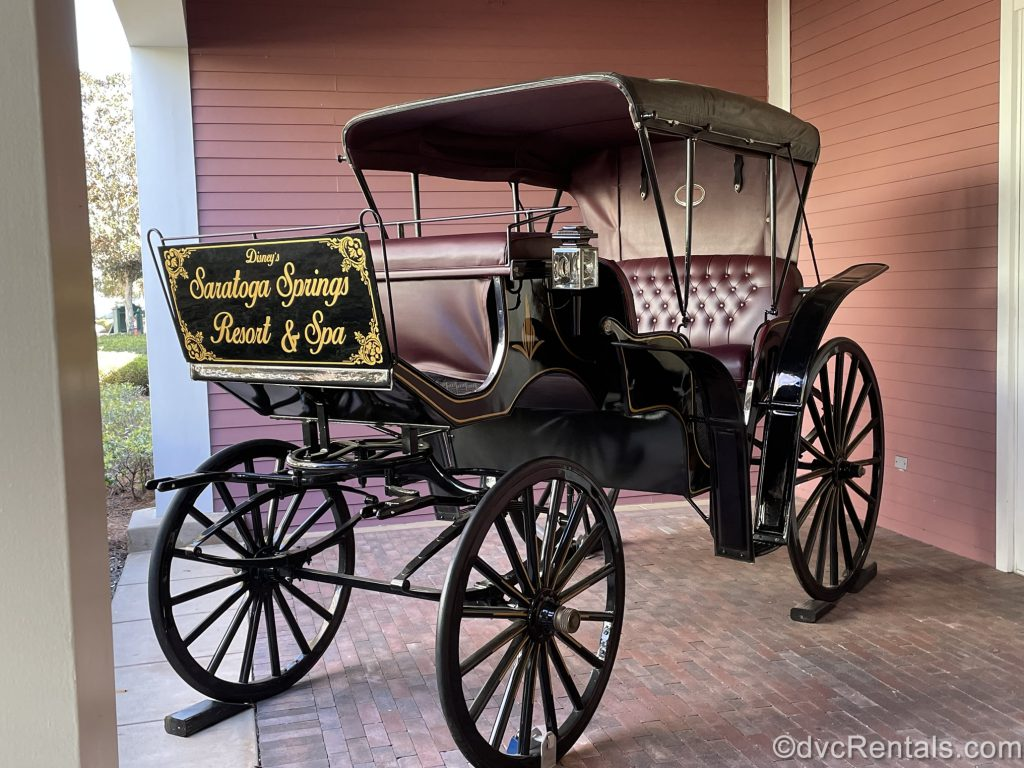 Carriage at Disney's Saratoga Springs Resort & Spa